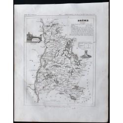 1833 - Département de la Drôme