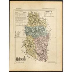 1896 - Département de la Meuse