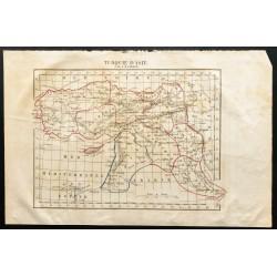 1843 - Carte de la Turquie...
