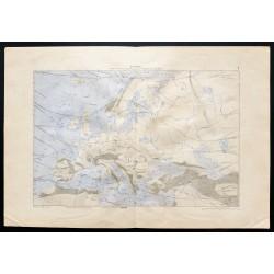 1880 - Carte de l'Europe