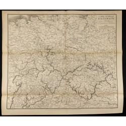 1881 - Carte militaire de...