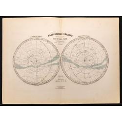 1884 - Planisphère céleste