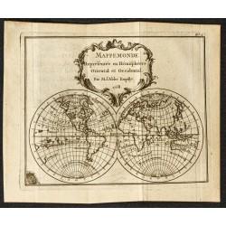 1758 - Mappemonde...