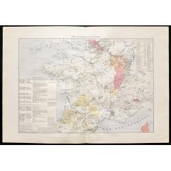 1880 - Carte historique de...