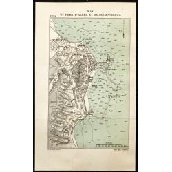 1884 - Plan du port d'Alger