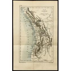 1884 - Carte du Congo et...