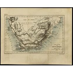 1884 - carte de l'Afrique...