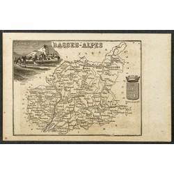 1865 - Basses-Alpes et Allier