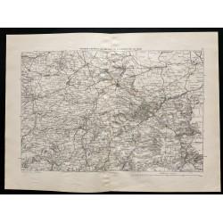 1880 - Carte de la...