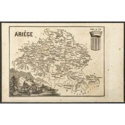 1865 - Ariège et Aube