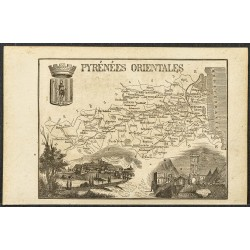1865 - Pyrénées orientales...