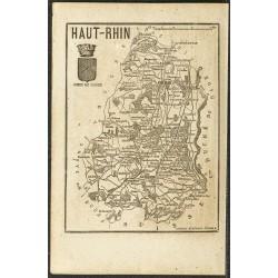 1865 - Bas Rhin et Haut Rhin