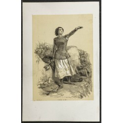 1850ca - Portrait de Jeanne...
