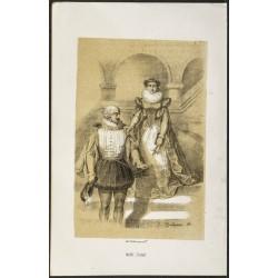 1850ca - Portrait de Marie...