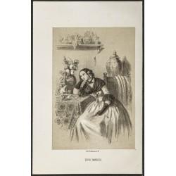 1850ca - Portrait de Sophie...