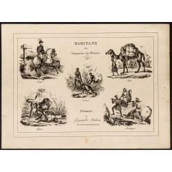 1840ca - Habitants du monde