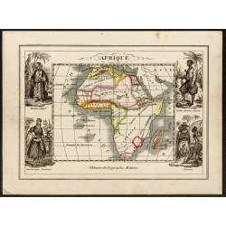 1840ca - Carte géographique...