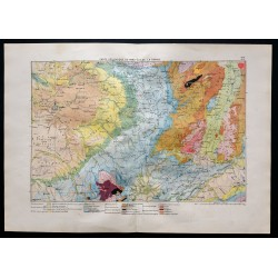1880 - Carte géologique du...