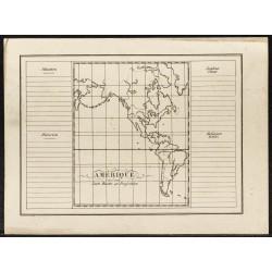 1840ca - Carte muette de...