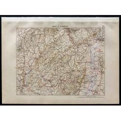 1880 - Carte de Hardt &...