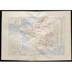 1880 - Carte militaire de...