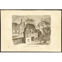 1882 - Porte d'entrée de...
