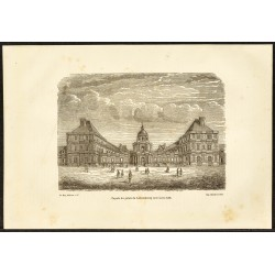 1882 - Façade du palais du...
