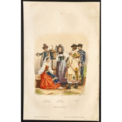 1862 - Costumes d'Europe
