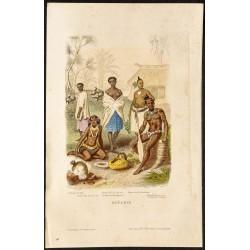 1862 - Costumes de l'Océanie