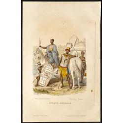 1862 - Costumes d'Afrique...