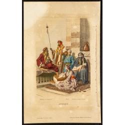 1862 - Costumes arabes de...