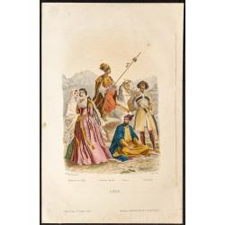 1862 - Costumes de l'Asie