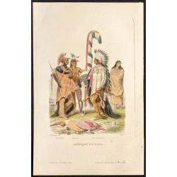 1862 - Costumes d'Amérique...