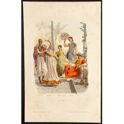 1862 - Costumes d'Inde