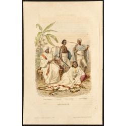 1862 - Costumes de d'Abyssinie