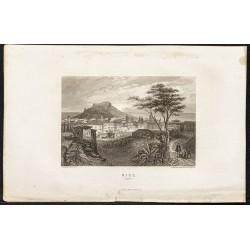 1862 - Vue de la ville de Nice