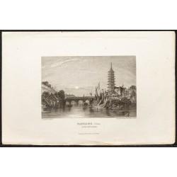 1862 -  Ville de Nankin en...