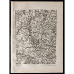 1880 - Carte de Nancy et de...