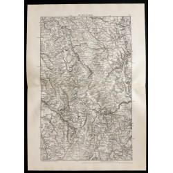 1880 - Carte des côtes de...
