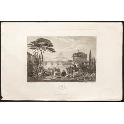 1862 - Rome et château...