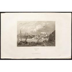 1862 - Ville d'Oran en Algérie