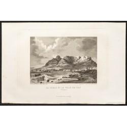 1862 - Le Cap et montagne...