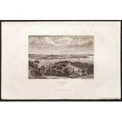 1862 - Sydney en Australie