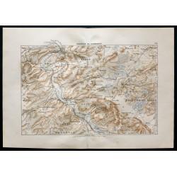 1880 - Carte de la position...