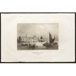 1862 - Vue de Constantinople
