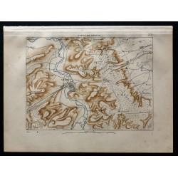 1880 - Carte des forts...