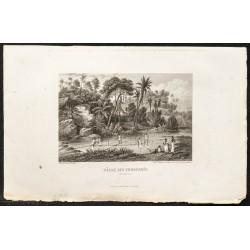 1862 - Scène de pêche en...