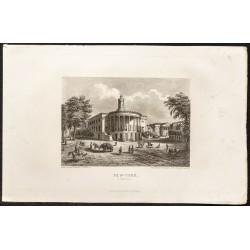 1862 - Vue de Philadelphie