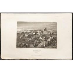 1862 - Jérusalem et dôme du...