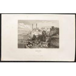 1862 - Varanasi ou Bénarès